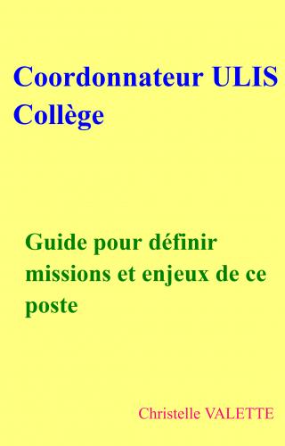 Coordonnateur ULIS Collège