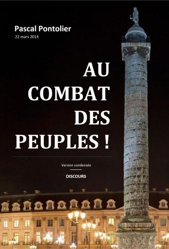 Au combat des peuples ! - Discours