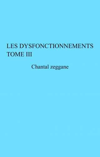 LLes Dysfonctionnements Tome III