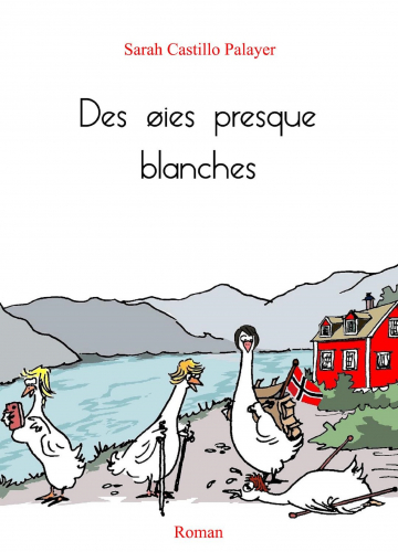 des-oies-presque-blanches