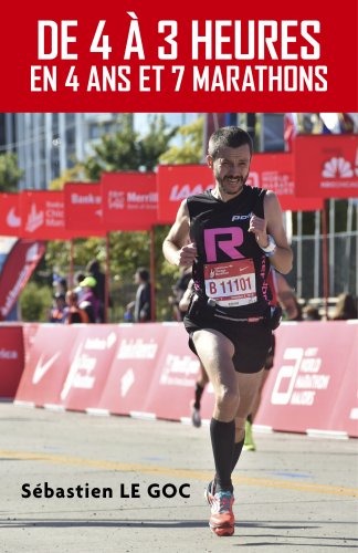 De 4 à 3 heures,  En 4 ans et 7 marathons