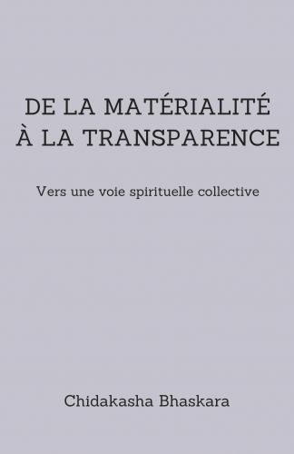 LDe la matérialité à la transparence