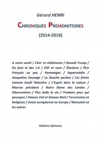Chroniques prémonitoires