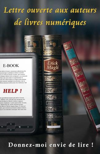 LLettre ouverte aux auteurs de livres numériques