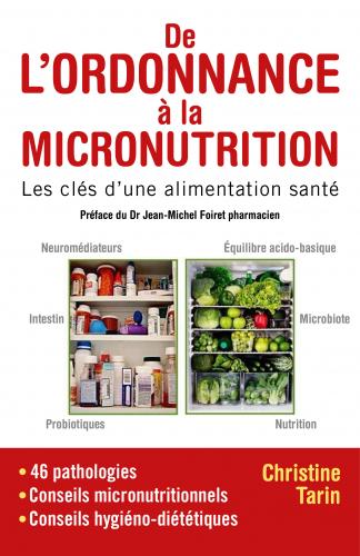 LDe l'ordonnance à la micronutrition