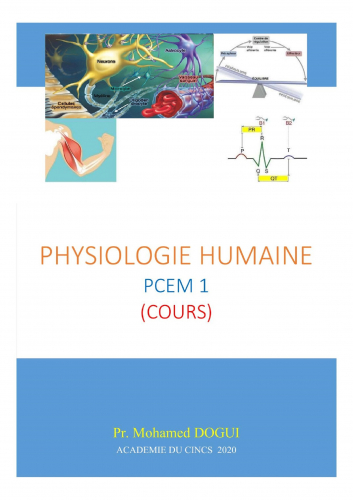 LPhysiologie humaine