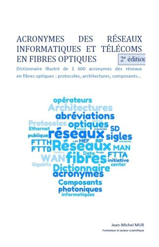 LAcronymes des réseaux informatiques et télécoms en fibres optiques