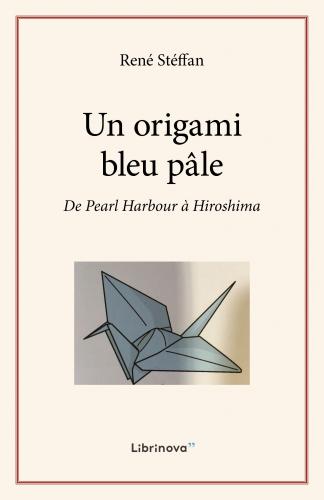 Un origami bleu pâle